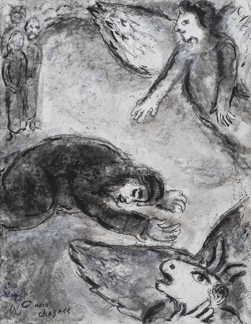 , 'Job dans l'Épreuve,' Executed 1958-59, Stern Pissarro