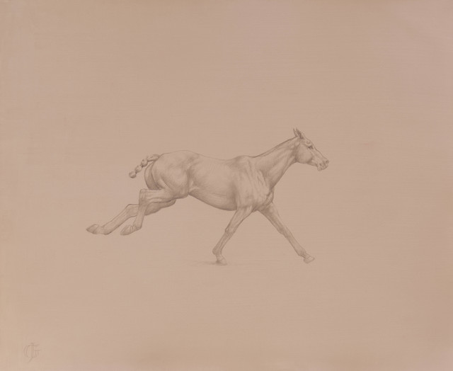 , '23. Galloping Polo Pony,' 2016, Sladmore Contemporary