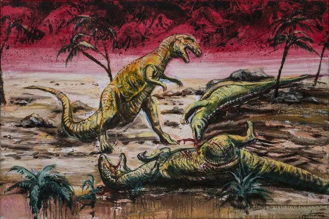 , 'One Million Years B.C.,' 2017, Nathalia Tsala Gallery