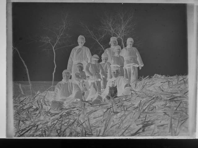 , 'The Encounter Between Gas Mask and Squad Six-Five-Nine in Front of the Lightbox,' 2016, TKG+