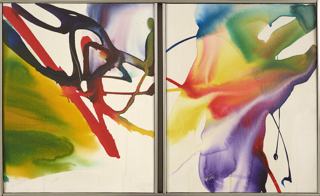 Paul Jenkins, 'Phenomena Twice Told', 1964-1968, Painting, Acrylic on canvas, Berry Campbell Gallery