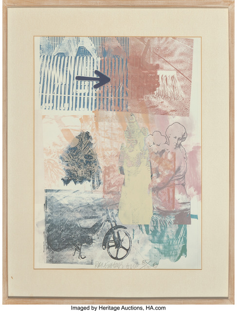 Robert Rauschenberg, 'Untitled', 1984, Print, Lithograph in colors, Heritage Auctions