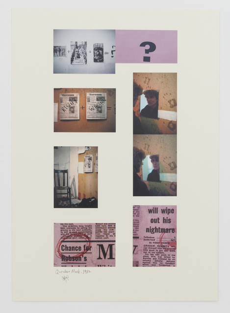, 'Question Mark,' 1982, Gallery Isabelle van den Eynde