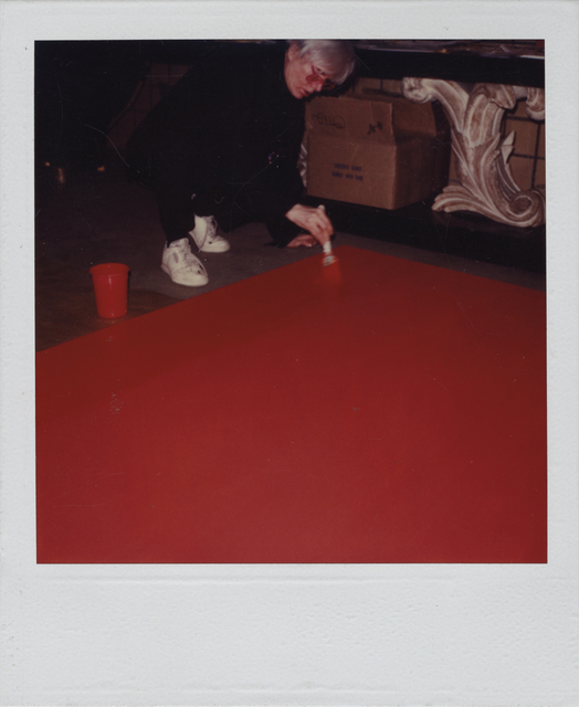 Andy Warhol, 'Andy Painting', ca. 1984, Christie's Warhol Sale