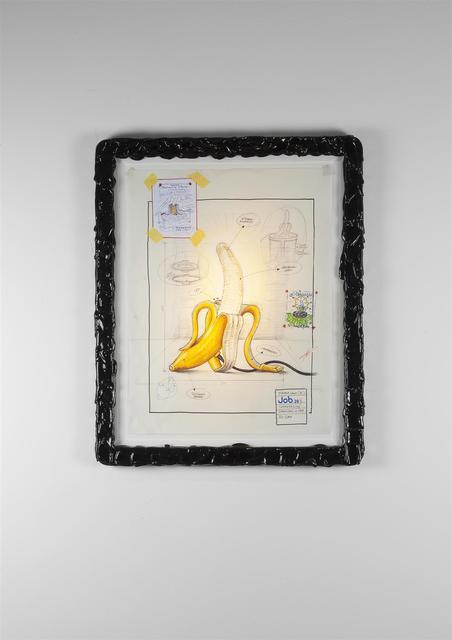 , 'Banana Lamp Drawing (Model B),' 2017, Carpenters Workshop Gallery