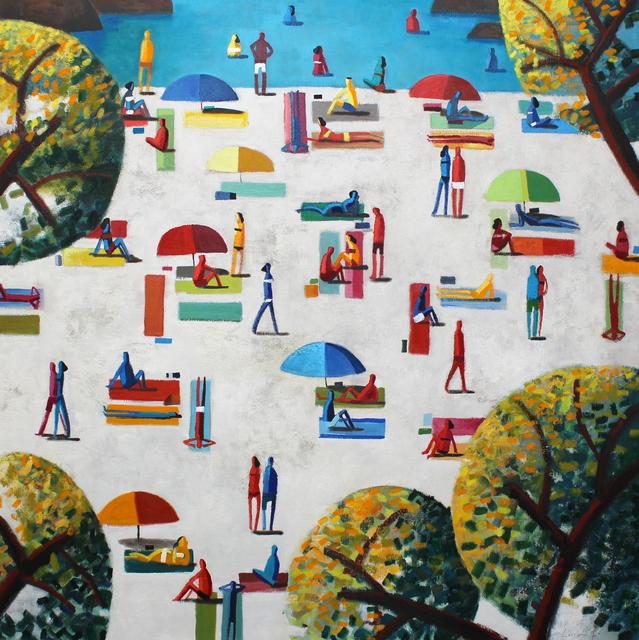 , 'White Sand,' 2019, GALERIA JORDI BARNADAS