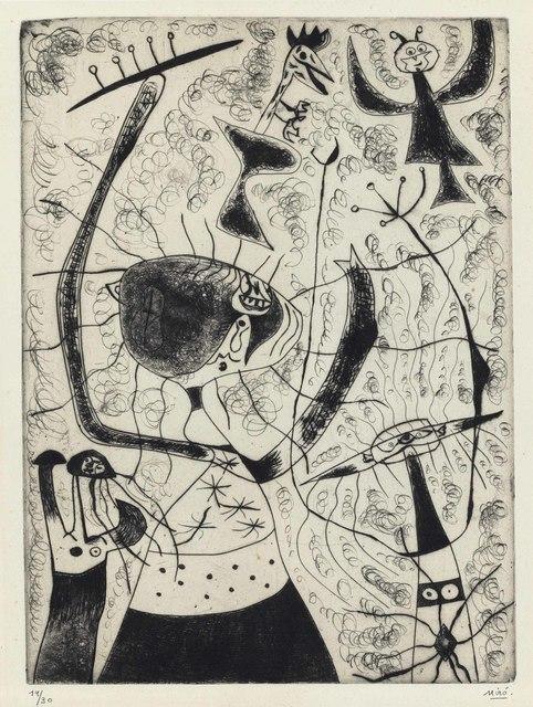 Joan Miró, 'Les trois soeurs', 1938, Christie's