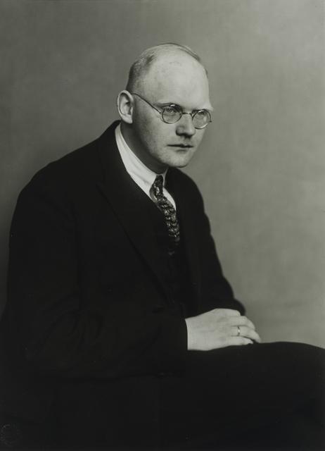 , 'Writer and Journalist [Otto Brües],' 1926, Galerie Julian Sander