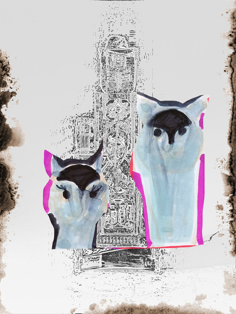 , 'Sunday Cats (from the series 'Revisiting Fear'),' 2018, Beck & Eggeling