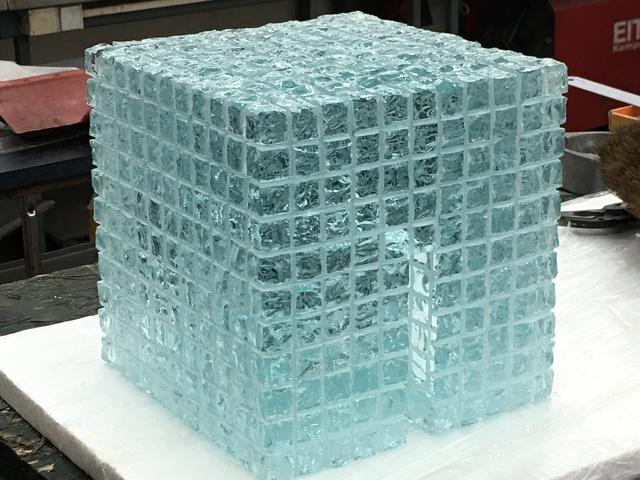 Till Augustin, 'IceCube 11³', 2017, Renate Bender