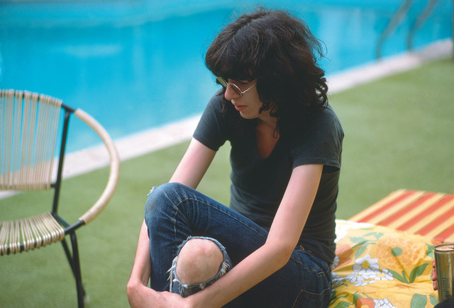 , 'Joey Ramone at the pool of the Sunset Marquis,' 1977, TMPG