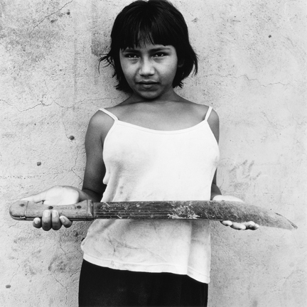 , 'Machete, Rio Caura, Venezuala,' 2002-printed 2017, Scott Nichols Gallery