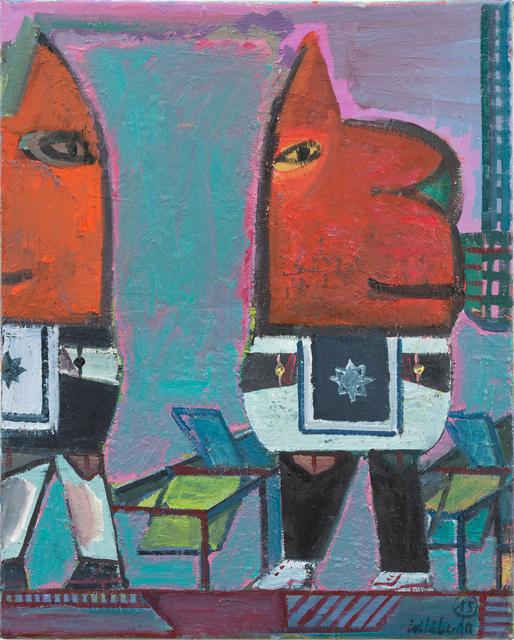 , 'Man weiß Bescheid,' 2015, Galerie Kleindienst