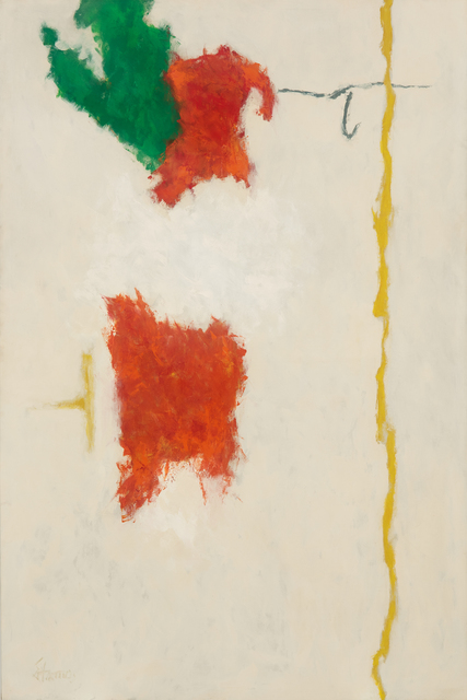 , 'White Spring #1,,' 1963-1964, Hollis Taggart