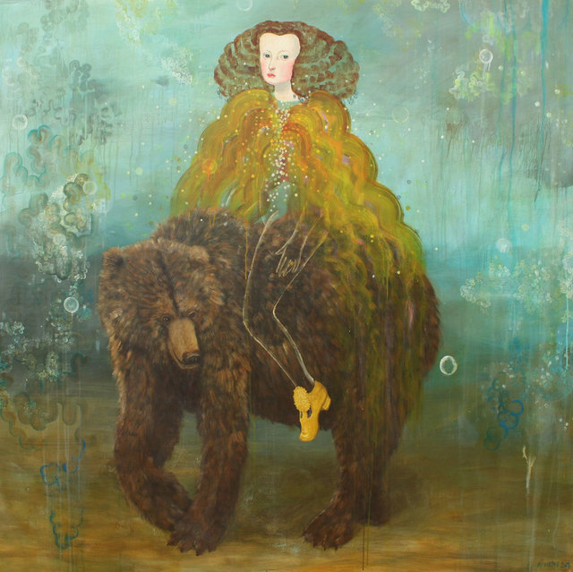 , 'Bear ,' 2017, David Lusk Gallery