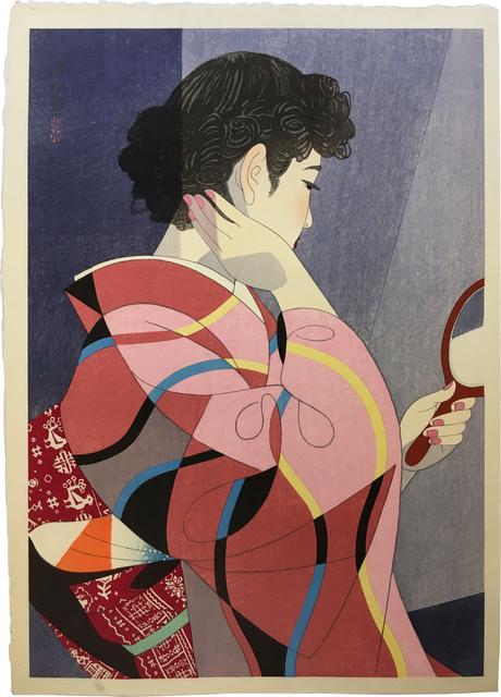 Itō Shinsui, 'Hand Mirror', ca. 1954, Scholten Japanese Art