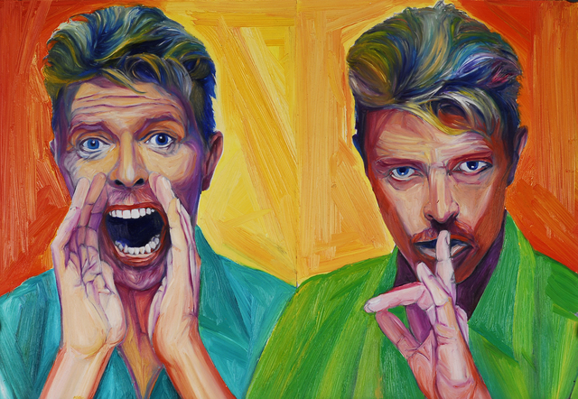 , 'David Bowie,' 2006, Fountain House Gallery