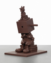 Paul McCarthy, 'Chocolate Silicone Blockhead,' 1999-2000, Sotheby's: Contemporary Art Day Auction