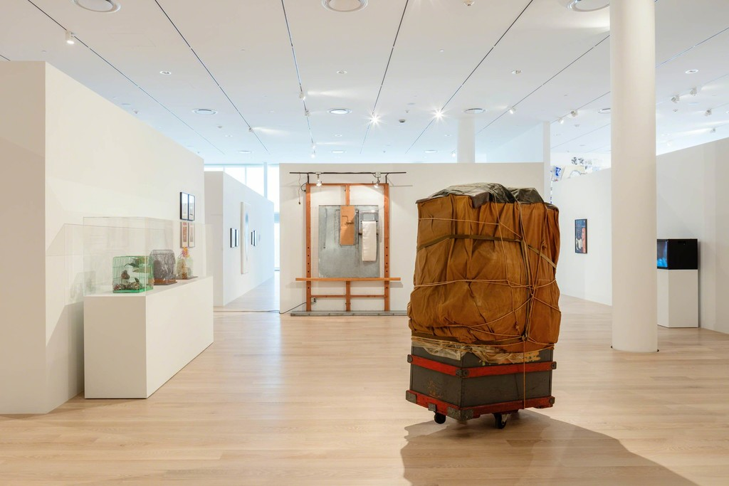 "Installation view: ""The Everywhere Studio,"" Institute of Contemporary Art, Miami, Dec 1, 2017–Feb 26, 2018. Photo: Fredrik Nilsen Studio."