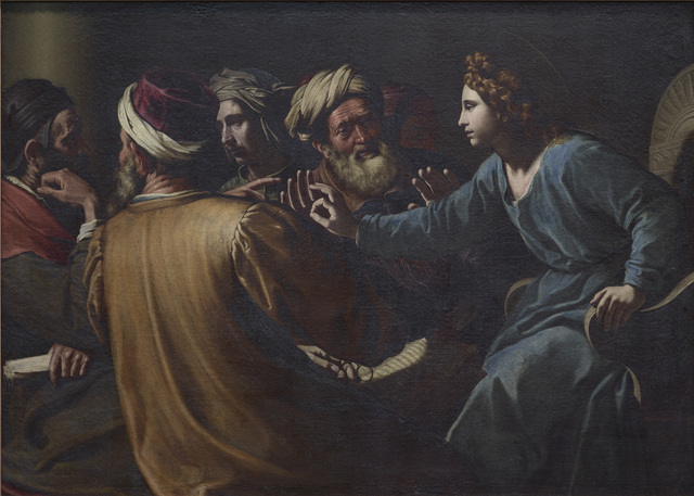 , 'Christ disputing with the Doctors  ,' ca. 1613, The National Gallery, London