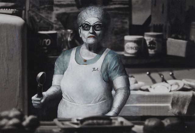 , 'Pearl the Lunch Lady at Shady Grove Nursing Home,' 2017, Catherine Edelman Gallery