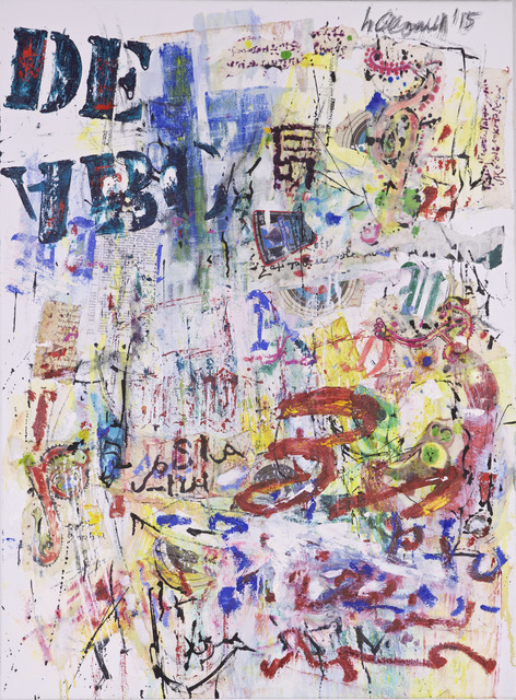 , 'Palimpsest #2,' 2015, Carter Burden Gallery
