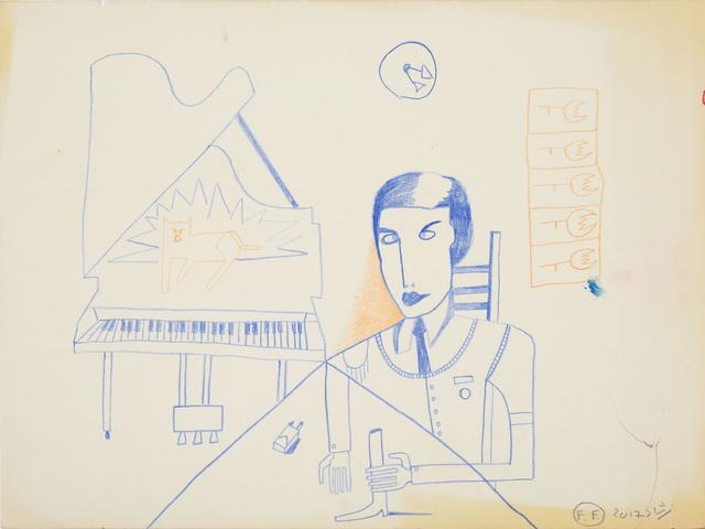 , 'Conversation with piano (Negotiation Skills),' 2018, Galerie Kornfeld