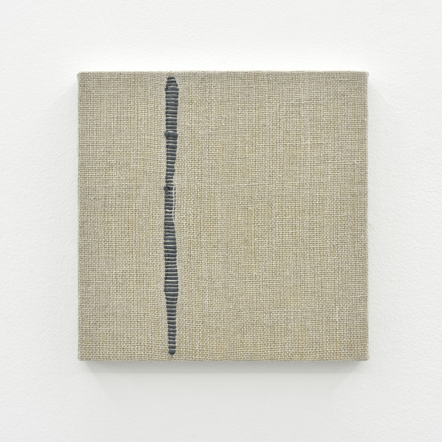 , 'Composition for Woven Vertical Line (Gray),' 2017, PRAZ-DELAVALLADE