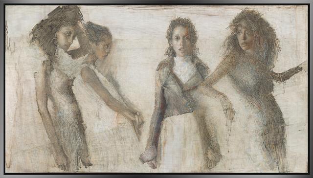 Daniel Bilmes, 'Phantoms', 2018, Painting, Oil on Panel, ARCADIA CONTEMPORARY
