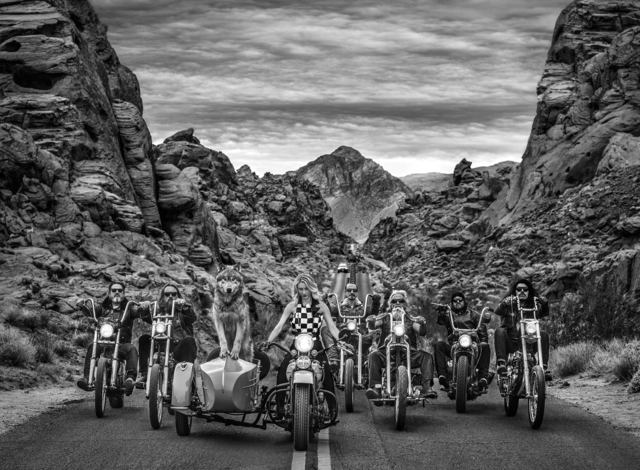 David Yarrow, 'Leader of the Pack', ca. 2019, Photography, Archival Pigment Print, Samuel Lynne Galleries