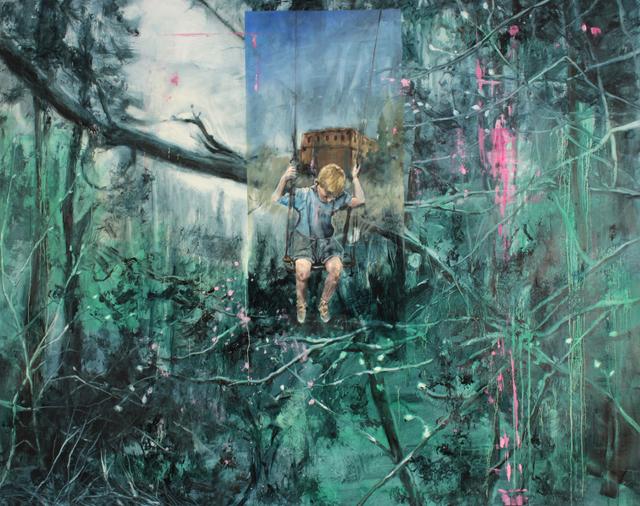 , 'The Swing,' 2017, Kloser Contemporary Art