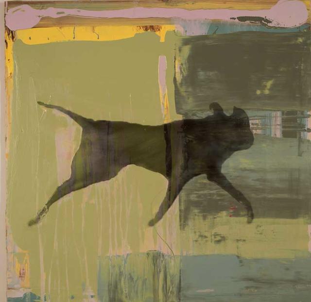, 'Black Dog Running,' 2017, Craig Krull Gallery