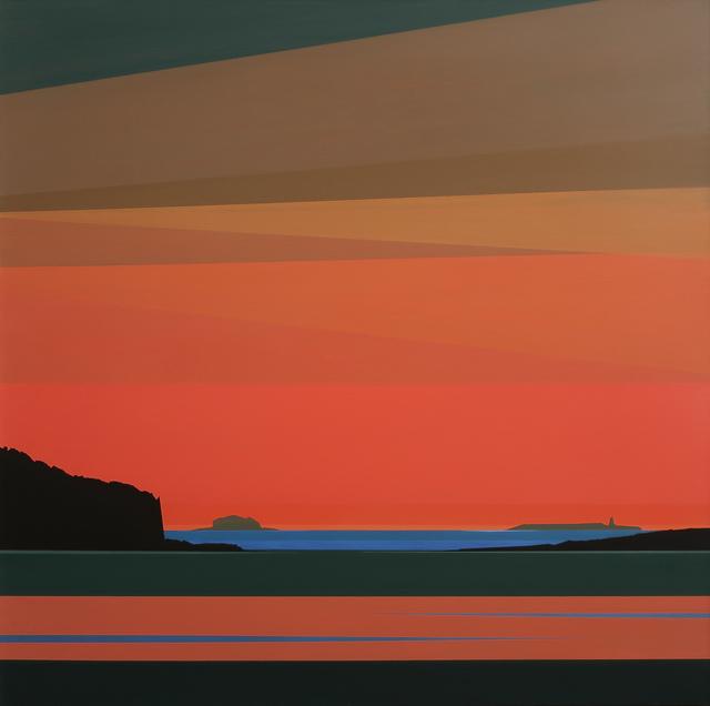 , 'Cadmium Sky,' 2020, Octavia Art Gallery