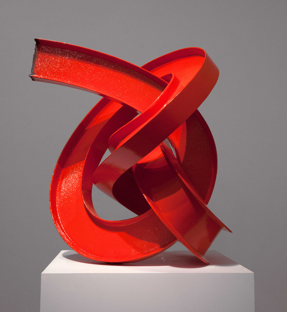 , 'Red I-beam Knot,' 2012, Roslyn Oxley9 Gallery