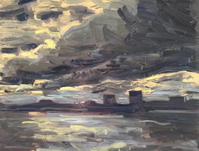 , 'The Long, Long Skies Over New Jersey,' 2016, Grenning Gallery