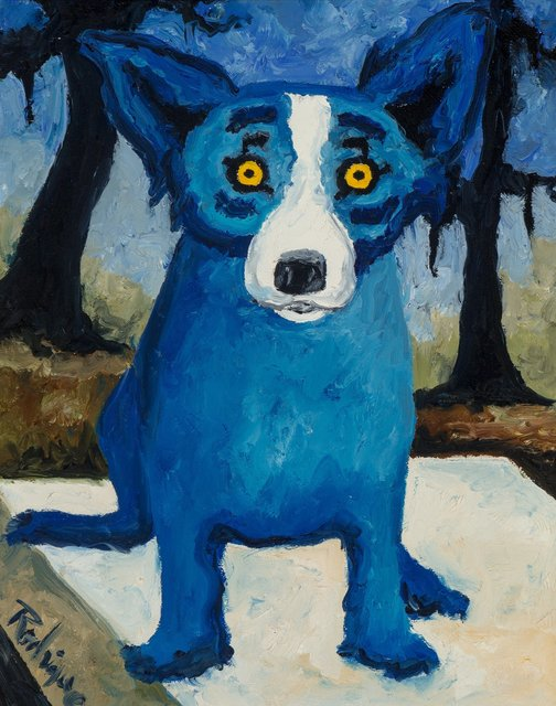 George Rodrigue, 'Dancin' on My Grave', 1991, Heritage Auctions