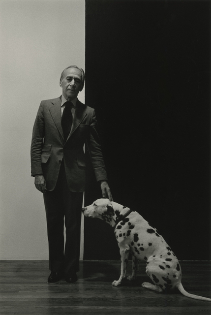 , 'Leo Castelli with Dog ,' 1978, Photography West Gallery