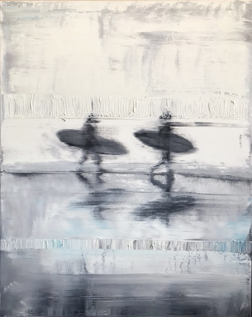 , 'Malibu,' 2018, {9} The Gallery