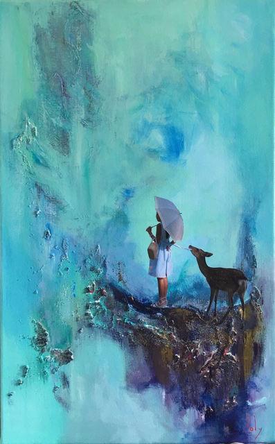 , 'The Girl with the Deer,' , Saphira & Ventura Gallery