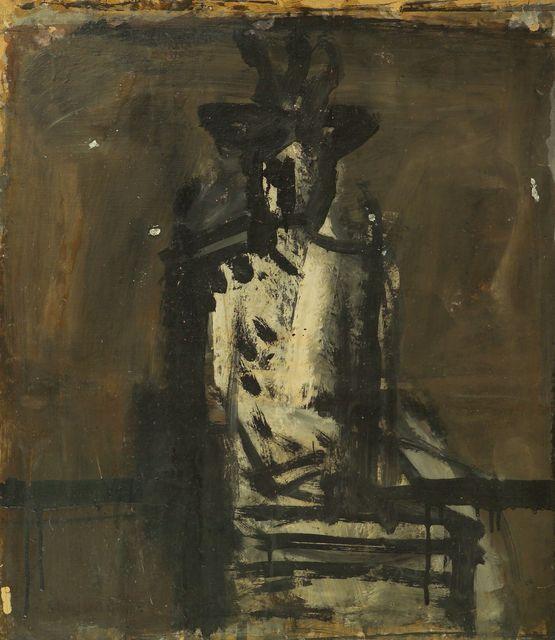 , 'Indoor figure with hat,' 1936, Brun Fine Art