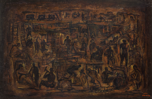 , 'Exalting the Miners,' 1966, Liang Gallery