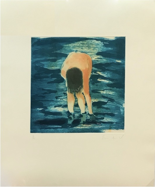 Eric Fischl, 'Untitled (Boy in blue water)', 1988, Robert Fontaine Gallery