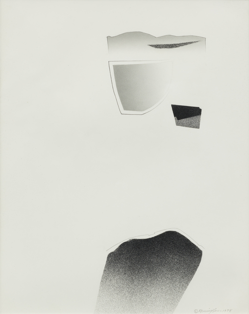 , 'Trace Series #10,' 1978, Kimmerich Gallery