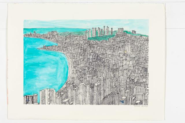 , 'Untitled (City),' 2014, Creativity Explored