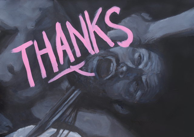 , 'Thanks,' 2017, neebex