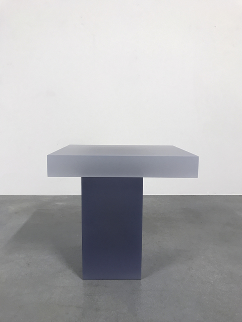 , 'Haze Stool (White and Purple),' 2015, Carpenters Workshop Gallery