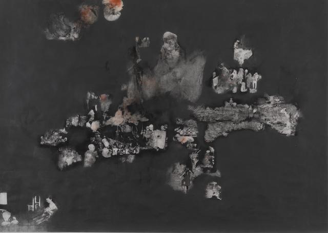 , 'Violent Ordeals (Red Explosion),' 2012, Cob