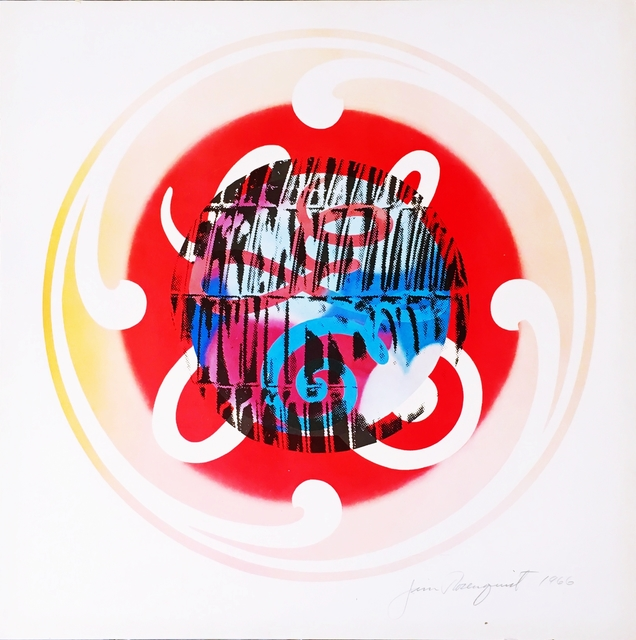 , 'Circles of Confusion and Light Bulb,' 1966, Alpha 137 Gallery