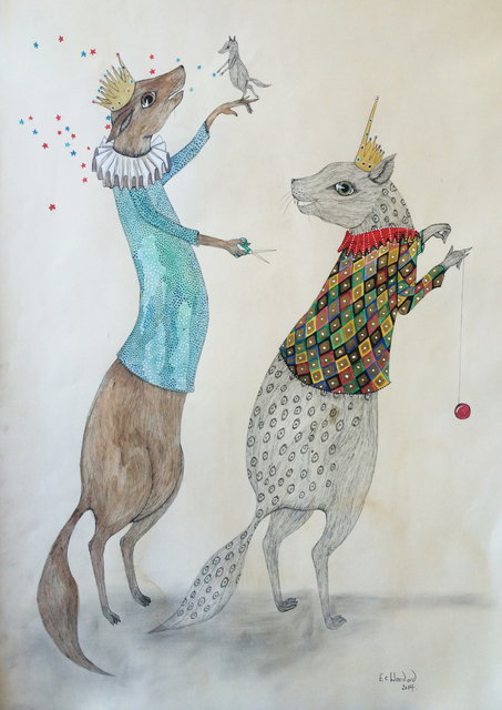 , 'Circus Tricks,' 2013, Bluerider ART