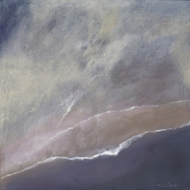 John Axton, 'The Sky Becomes the Sea', 2017, Painting, Oil, Ventana Fine Art